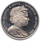 2 Pounds - Elizabeth II (Sir Ernest Henry Shackleton) – obverse