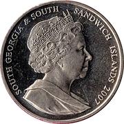 2 Pounds - Elizabeth II (Ernest Shackleton) – obverse