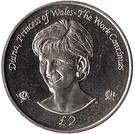 2 Pounds - Elizabeth II (Princess Diana) – reverse