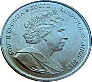 2 Pounds - Elizabeth II (Diamond Jubilee) – obverse