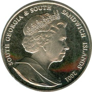2 Pounds - Elizabeth II (Sir Joseph Banks) – obverse