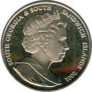 2 Pounds - Elizabeth II (Sir Joseph Banks) – obverse