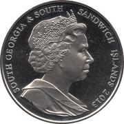 2 Pounds - Elizabeth II (Birth of Prince George) – obverse