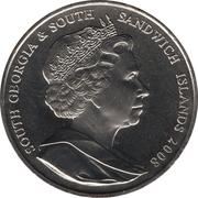 2 Pounds - Elizabeth II (Oldest Reigning Monarch) – obverse