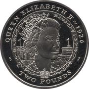 2 Pounds - Elizabeth II (Queen Elizabeth II 1926) – reverse