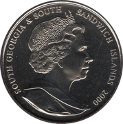 2 Pounds - Elizabeth II (Queen Mother) – obverse