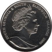 2 Pounds - Elizabeth II (Queen Mother) – obverse