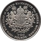 2 Pounds - Elizabeth II (Queen Mother) – reverse