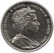 2 Pounds - Elizabeth II (Sir Ernest Shackleton) – obverse