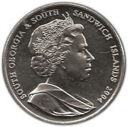 2 Pounds - Elizabeth II (Sir Ernest Shackleton) – obverse