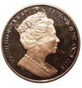 2 Pounds - Elizabeth II (Sir Ernest Shackleton) -  obverse