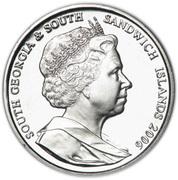 2 Pounds - Elizabeth II (Elephant Seal) – obverse