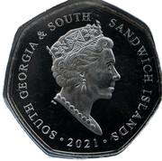 50 Pence - Elizabeth II (Angel Wings) – obverse