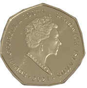 50 Pence - Elizabeth II (RRS Discovery) – obverse