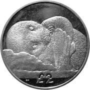 2 Pounds  - Elizabeth II (Weddell Seal) – reverse