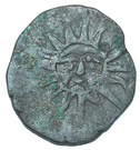 ½ Bisti anonymous (Sun with face) – obverse