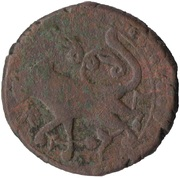½ Bisti  - Anonymous (Two Lions) – obverse