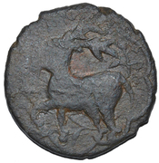 ½ Bisti anonymous (Deer) – obverse