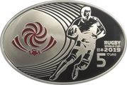 5 Lari (Rugby World Cup-2019) – obverse