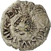 ¼ Siliqua - In the name of Anastasius I, 491-518 & Theoderic, 475-526 (Sirmium; bust facing left) – obverse