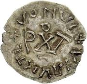 ¼ Siliqua - In the name of Anastasius I, 491-518 & Theoderic, 475-526 (Sirmium; bust facing left) – reverse