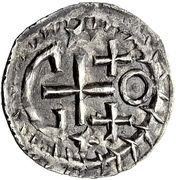 ¼ Siliqua - In the name of Justinian I, 527-565 & Theoderic, 475–526 (Sirmium; with stars) – reverse