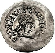 ¼ Siliqua - In the name of Justinian I, 527-567 & Theoderic, 475–526 (Sirmium) – obverse