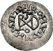 ¼ Siliqua - In the name of Justinian I, 527-567 & Theoderic, 475–526 (Sirmium) – reverse