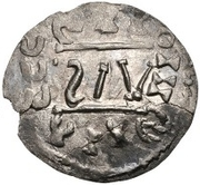 ½ Siliqua - In the name of Meaningless Legend (Sirmium; bust facing left) – reverse