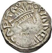 ½ Siliqua - In the name of Anastasius I, 491-518 (Sirmium; radiate bust with retrograde SRM) – obverse