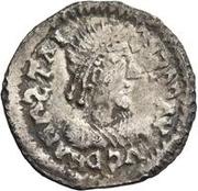 ½ Siliqua - In the name of Anastasius I, 491-518 (Sirmium; small bust) – obverse