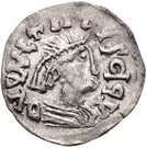 ¼ Siliqua - In the name of Justin I, 518-527 & Theoderic, 475–526 (Sirmium; regular S with flat bust) – obverse