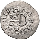 ¼ Siliqua - In the name of Justin I, 518-527 & Theoderic, 475–526 (Sirmium; regular S with flat bust) – reverse