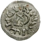 ¼ Siliqua - In the name of Justin I, 518-527 & Theoderic, 475–526 (Sirmium; without S) – reverse
