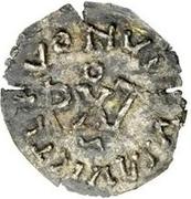 ¼ Siliqua - In the name of Anastasius I, 491-518 & Theoderic, 475-526 (Sirmium; bust facing right) – reverse