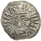¼ Siliqua - In the name of Anastasius I, 491-518 & Theoderic, 475-526 (Sirmium; horizontal S with backwards monogram) – obverse