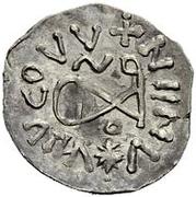 ¼ Siliqua - In the name of Anastasius I, 491-518 & Theoderic, 475-526 (Sirmium; horizontal S with backwards monogram) – reverse