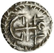 ¼ Siliqua - In the name of Justinian I, 527-565 & Theoderic, 475–526 (Sirmium; without stars) – reverse
