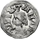 ¼ Siliqua - In the name of Anastasius I, 491-518 & Theoderic, 475-526 (Sirmium; regular S with bust facing left) – obverse