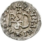 ¼ Siliqua - In the name of Anastasius I, 491-518 & Theoderic, 475-526 (Sirmium; regular S with rolled bust) – reverse