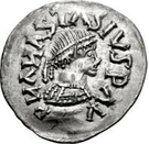 ¼ Siliqua - In the name of Anastasius I, 491-518 & Theoderic, 475-526 (Sirmium; regular S with flat bust) – obverse