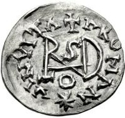 ¼ Siliqua - In the name of Anastasius I, 491-518 & Theoderic, 475-526 (Sirmium; regular S with flat bust) – reverse