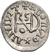 ¼ Siliqua - In the name of Anastasius I, 491-518 & Theoderic, 475-526 (Sirmium; regular S with angled bust) – reverse