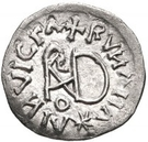 ¼ Siliqua - In the name of Anastasius I, 491-518 & Theoderic, 475-526 (Sirmium; retrograde S with flat bust) – reverse