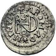 ¼ Siliqua - In the name of Anastasius I, 491-518 & Theoderic, 475-526 (Sirmium; regular S with bust in legend) – reverse