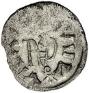 ¼ Siliqua - In the name of Justin I, 518-527 & Theoderic, 475–526 (Sirmium; retrograde S with body-less bust) – reverse