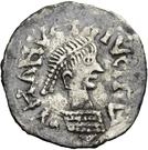 ¼ Siliqua - In the name of Anastasius I, 491-518 (Sirmium) – obverse