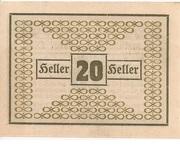 20 Heller (Geretsberg) -  reverse