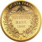 20 Mark - Wilhelm II – reverse