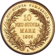 10 Mark - Wilhelm II – reverse